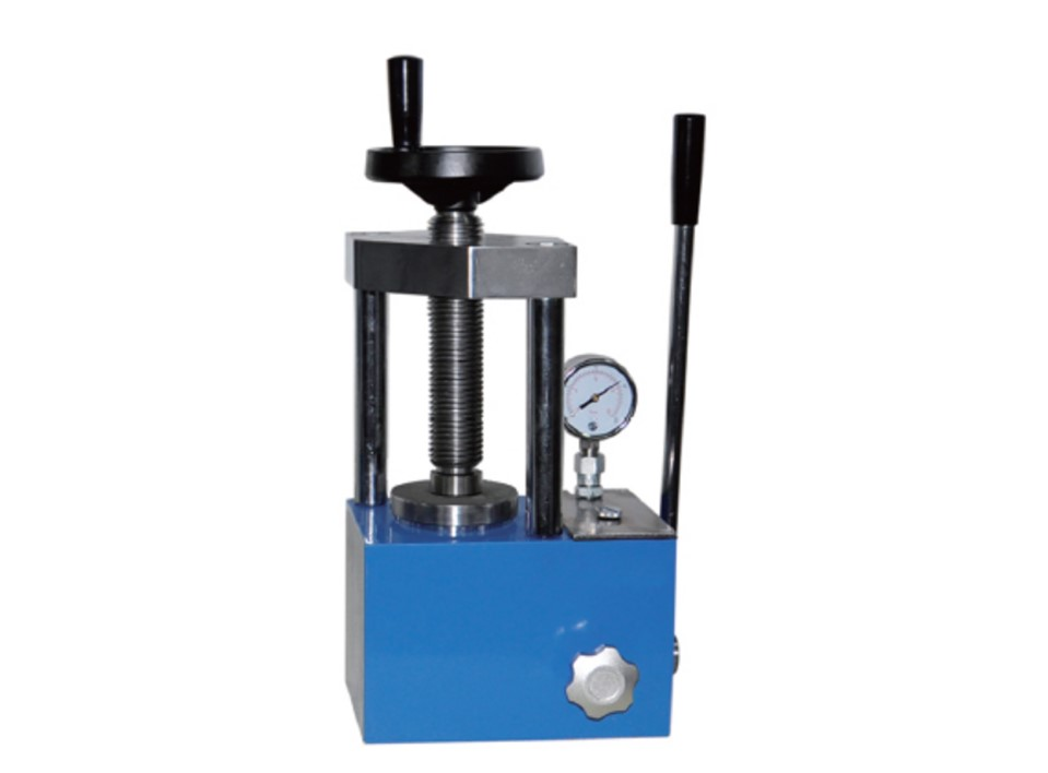 15 ton manually pallet pressing machine for laboratory