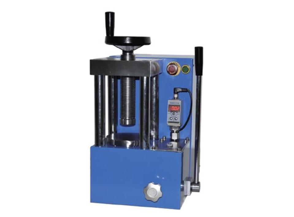 40 ton electric powder hydraulic press for lab
