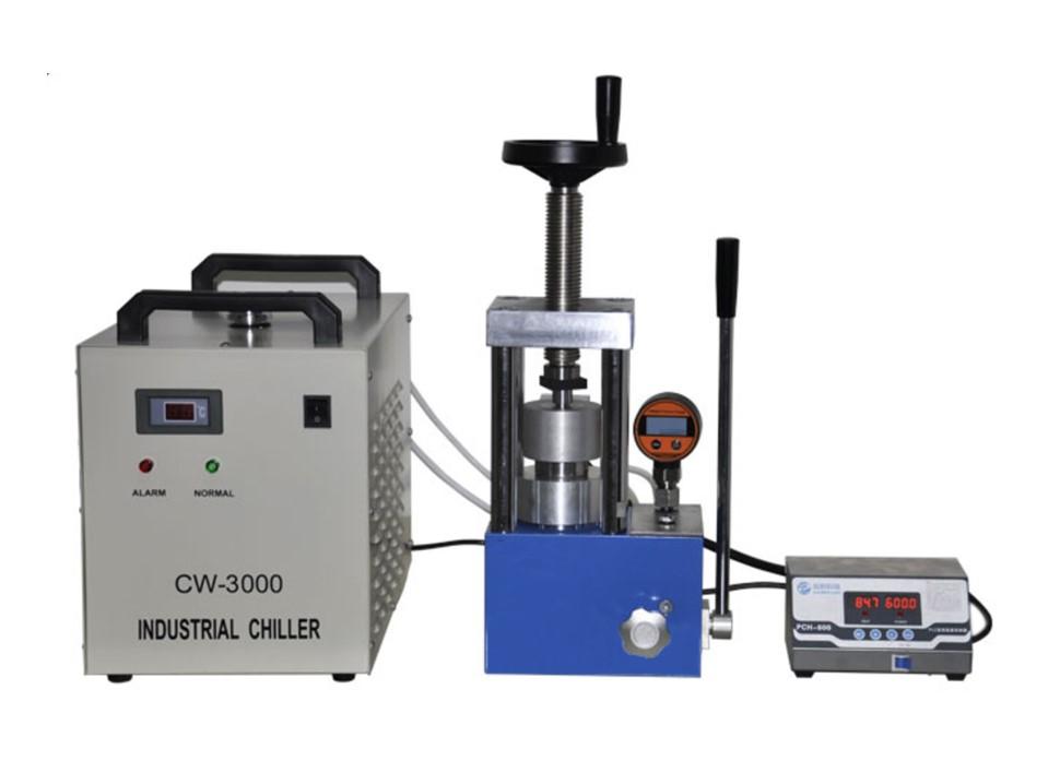 CHH-600A laboratory 24 ton heating press upto 300 degree