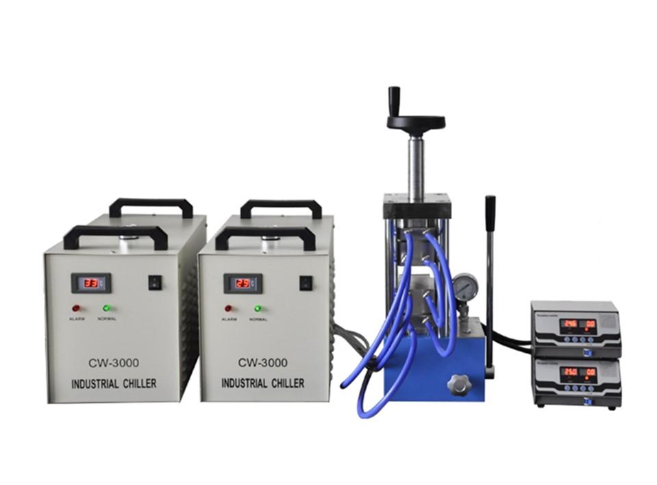 CHH-600CG 500 degree laboratory heating press