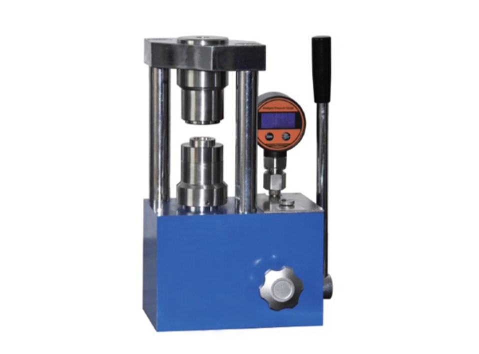 CH-5N 5 ton laboratory hydraulic crimper machine for coin cell battery